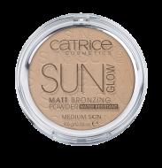 Пудра компактная с эффектом загара матирующая CATRICE Sun Glow Matt Bronzing Powder 030 бежевый: фото