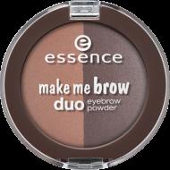 Тени для бровей Make Me Brow Duo Eyebrow Powder Essence 02 mix it brunette!: фото