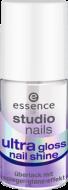 Верхнее покрытие для ногтей с блеском Ultra Gloss Nail Shine Essence: фото