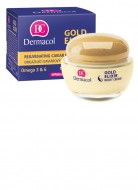 Ночной крем Dermacol Gold Elixir Night 50+: фото
