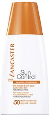 Солцезащ.крем для контура глаз против морщин и пигм.пятен для чувств.к солн.возд-ю кожи Lancaster Sun Control фактор защиты-50+ 15 мл: фото