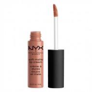 Жидкая помада NYX Professional Makeup Soft Matte Lip Cream Abu dhabi 09: фото