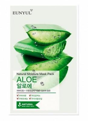 Тканевая маска с алоэ EUNYUL Natural moisture mask pack aloe 23 мл: фото