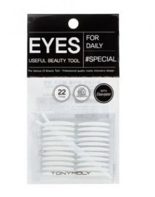 Наклейки для создания двойного века TONY MOLY Double eyelid tape: фото