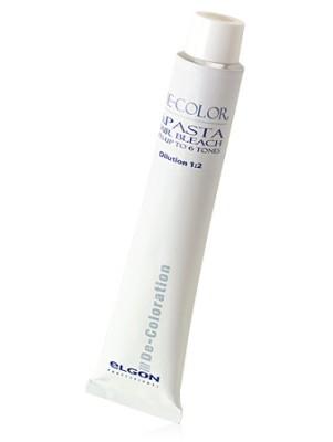 Паста обесцвечивающая для волос 6.PASTA HAIR BLEACH ELGON DE-COLOR, 150 гр: фото