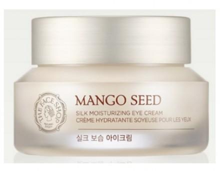 Крем для век с семенами манго THE FACE SHOP Mango seed silk moisturizing eye cream 30 мл: фото