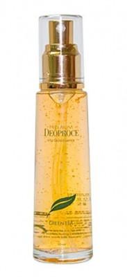 Эссенция с зеленым чаем и частичками золота DEOPROCE Premium vita gold essence 50мл: фото