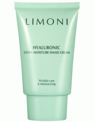 Крем для рук с гиалуроновой кислотой LIMONI Hyaluronic Ultra Moisture Hand Cream 50 мл: фото
