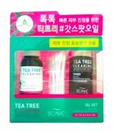 Набор Масло для проблемной кожи лица + ватные палочки SCINIC Tea tree clearing oil set 18мл/30шт: фото