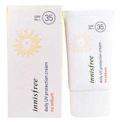 Солнцезащитный крем матирующий INNISFREE Daily UV Protection Cream No Sebum SPF35: фото