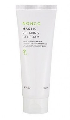 Пенка гелевая для умывания A'PIEU Nonco Mastic Relaxing Gel Foam: фото