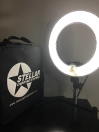 "Кольцевая лампа Stellar Mini Diva Ring Light 12"" + Table Top Stand: фото"