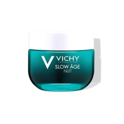 Крем-маска Ночной для интенсивной оксигенации кожи VICHY СЛОУ АЖ 50мл: фото