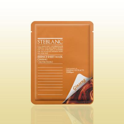 Маска питательная с женьшенем STEBLANC Essence sheet mask-ginseng: фото