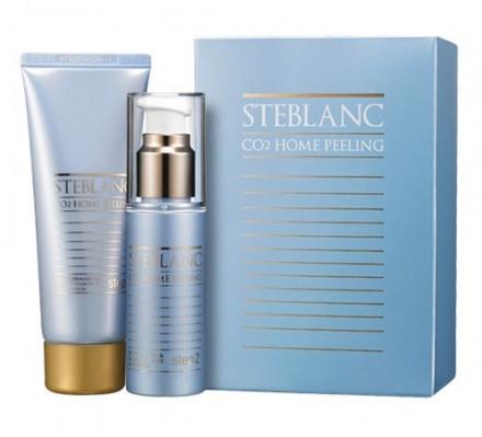 Двухфазный пилинг для лица STEBLANC CO2 Home peeling: фото