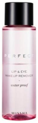 Средство для снятия макияжа MISSHA Perfect Lip & Eye Make-Up Remover Water-Proof 155 мл: фото