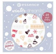 Наклейки для ногтей Essence Winter Dreamin' Nail Sticker Winter 2018: фото
