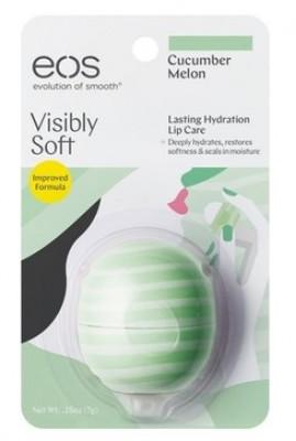 Бальзам для губ EOS Smooth Sphere Lip Balm Сucumber Melon на картонной подложке: фото