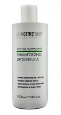 Шампунь для жирной кожи головы La Biosthetique Lipokerine A Shampoo For Oily Scalp Concentrate 1000мл: фото