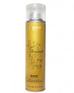 Лак аэрозольный для волос нормальной фиксации с маслом арганы Kapous Fragrance free Arganoil 250мл: фото