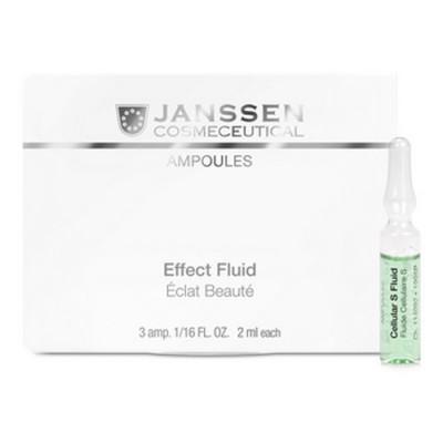 Сыворотка в ампулах для клеточного обновления Janssen Cosmetics Stem Cell Fluid 7*2мл: фото