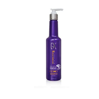 Шампунь серебряный Global Keratin Silver shampoo 280мл: фото