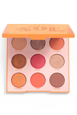 Палетка теней ColourPop SOL PRESSED POWDER EYESHADOW PALETTE: фото