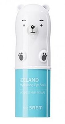 Стик для глаз увлажняющий с ледниковой водой THE SAEM Iceland Hydrating Eye Stick 8г: фото
