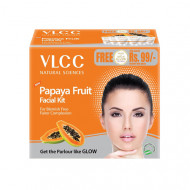 Набор для лица фруктовый с папайей VLCC Ayurveda 110г: фото