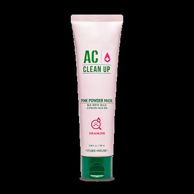Маска с розовой глиной для проблемной кожи ETUDE HOUSE AC Clean Up Pink Powder Mask 100мл: фото