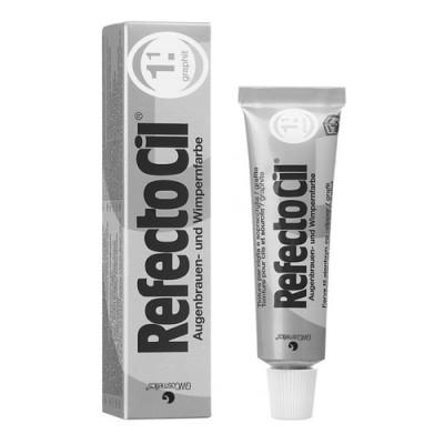Краска для ресниц REFECTOCIL N1.1 темно-серая графит: фото