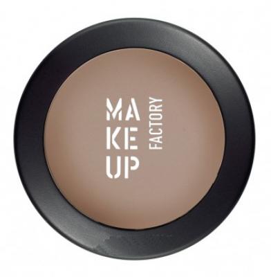 Тени для век матовые одинарные MAKE UP FACTORY Mat Eye Shadow т.08 коричневая кожа 3г: фото