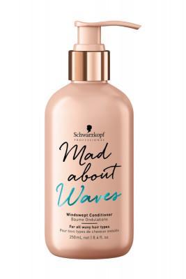 Кондиционер для нормальных и жестких волос Schwarzkopf Professional Mad About Waves Windswept Conditioner 250 мл: фото