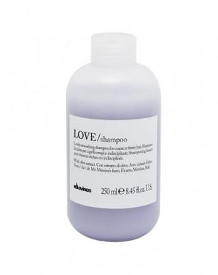 Шампунь для разглаживания завитка Davines LOVE/ lovely smoothing shampoo 250 мл: фото