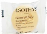Мыло для тела Ароматизированное Sothys Soap Lemon&Petitgrain Escape 20г: фото