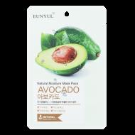 Маска тканевая с экстрактом авокадо EUNYUL NATURAL MOSTURE MASK PACK AVOCADO 22мл: фото