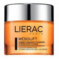 Крем-корректор признаков усталости витаминизированный Lierac Mesolift Fatigue Correction Vitamin-Enriched Melt-In Cream 50 мл: фото