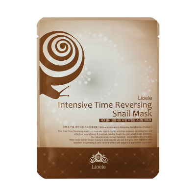 Маска улиточная Lioele Intensive Time Reversing Snail Mask 23г: фото