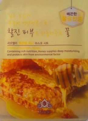 Маска медовая Lioele Essential Mask Honey 20мл: фото