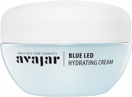 Крем увлажняющий Avajar Blue LED Hydrating Cream Main 50мл: фото