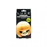 """Очищающие от черных точек угольные полоски 4Skin """"Luke Charcoal Nose Cleansing Strip"""" 10 шт.: фото"""