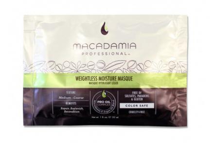 Маска увлажняющая для тонких волос Macadamia Weightless Moisture Masque 30мл: фото