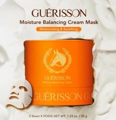 Mаска для лица увлажняющая Guerisson Moisture Balancing Cream Mask 35мл: фото