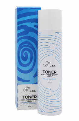 Тонер для лица МУЦИН УЛИТКИ D2 Lab TONER MOIST & REGENERATION SNAIL 150 мл: фото