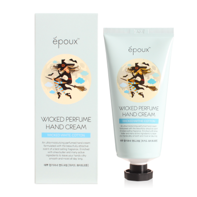 Крем для рук с хлопком Epoux Wicked Perfume Hand Cream Wicked White Cotton 80 мл: фото