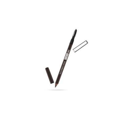 Карандаш для бровей PUPA TRUE EYEBROW PENCIL тон 003 Темно-коричневый: фото