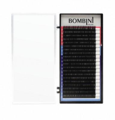 Ресницы Bombini Черные, 20 линий, С, 0.07, 10: фото