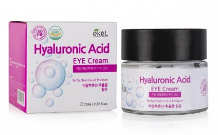 Крем для век с гиалуроновой кислотой Ekel Eye Cream Hyaluronic Acid 70 мл: фото