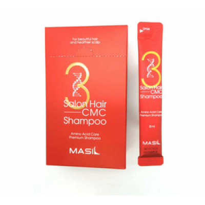 Набор шампуней с аминокислотами MASIL 3SALON HAIR CMC SHAMPOO STICK POUCH 8мл*20: фото