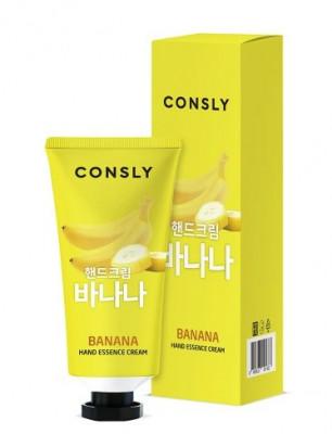 Крем-сыворотка для рук с экстрактом банана Consly BANANA HAND ESSENCE CREAM 100мл: фото